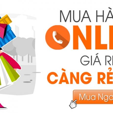 Giảm giá 5% đặt hàng Online