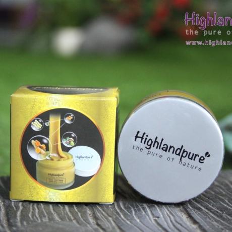 HDSD Kem tinh nghệ sữa ong chúa Highlandpure