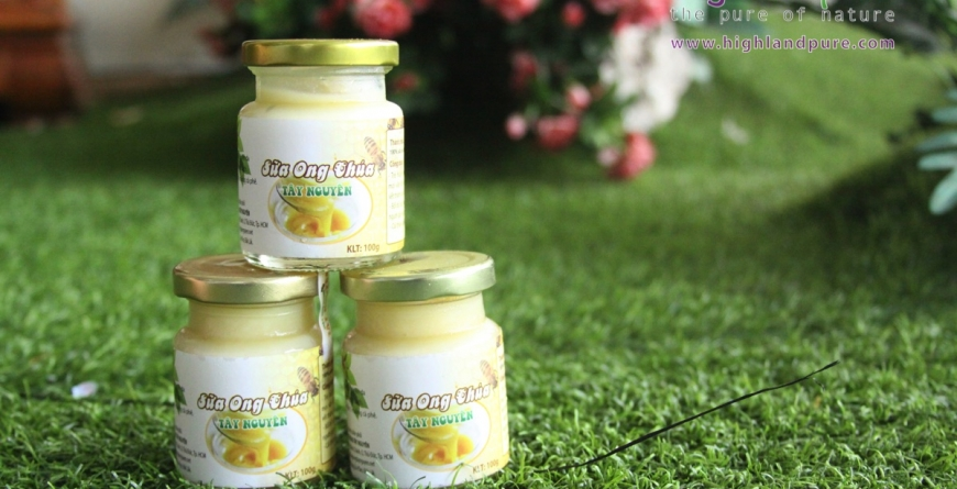 HDSD Sữa ong chúa Highlandpure